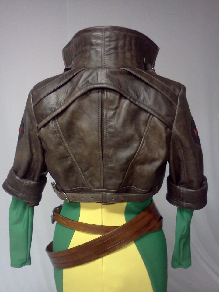 Leather Jacket Pattern – God Save The Queen